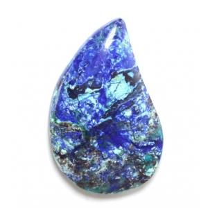Bluebird Chrysocolla www.cabochon.ws