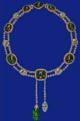 Delhi Durbar Necklace with Cullinan VII Pendant