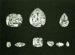 The 9 Cullinan main stones cut & polished