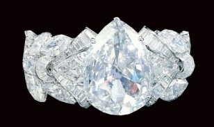 The Excelsior I, set in an elaborate bracelet by Mouawad.