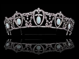 Opal Drop Tiara