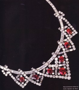 Elizabeth Taylor's Diamond and Ruby necklace sold for $3.7 million!
