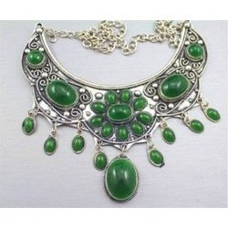 Tibetan Jade Necklace