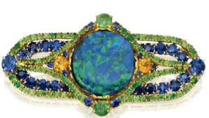 Tiffany & Co. Opal Brooch