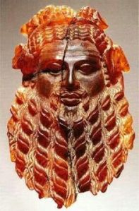 Amber carving of Dionysis, Rome, 1st century