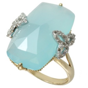 Michael-Valitutti-10k-Yellow-Gold-Blue-Chalcedony-and-Diamond-Ring-I-J-I1-I2-P15727886