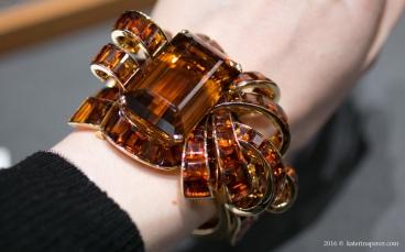 Trabert&Hoeffer – Mauboussin gold bracelet with citrines