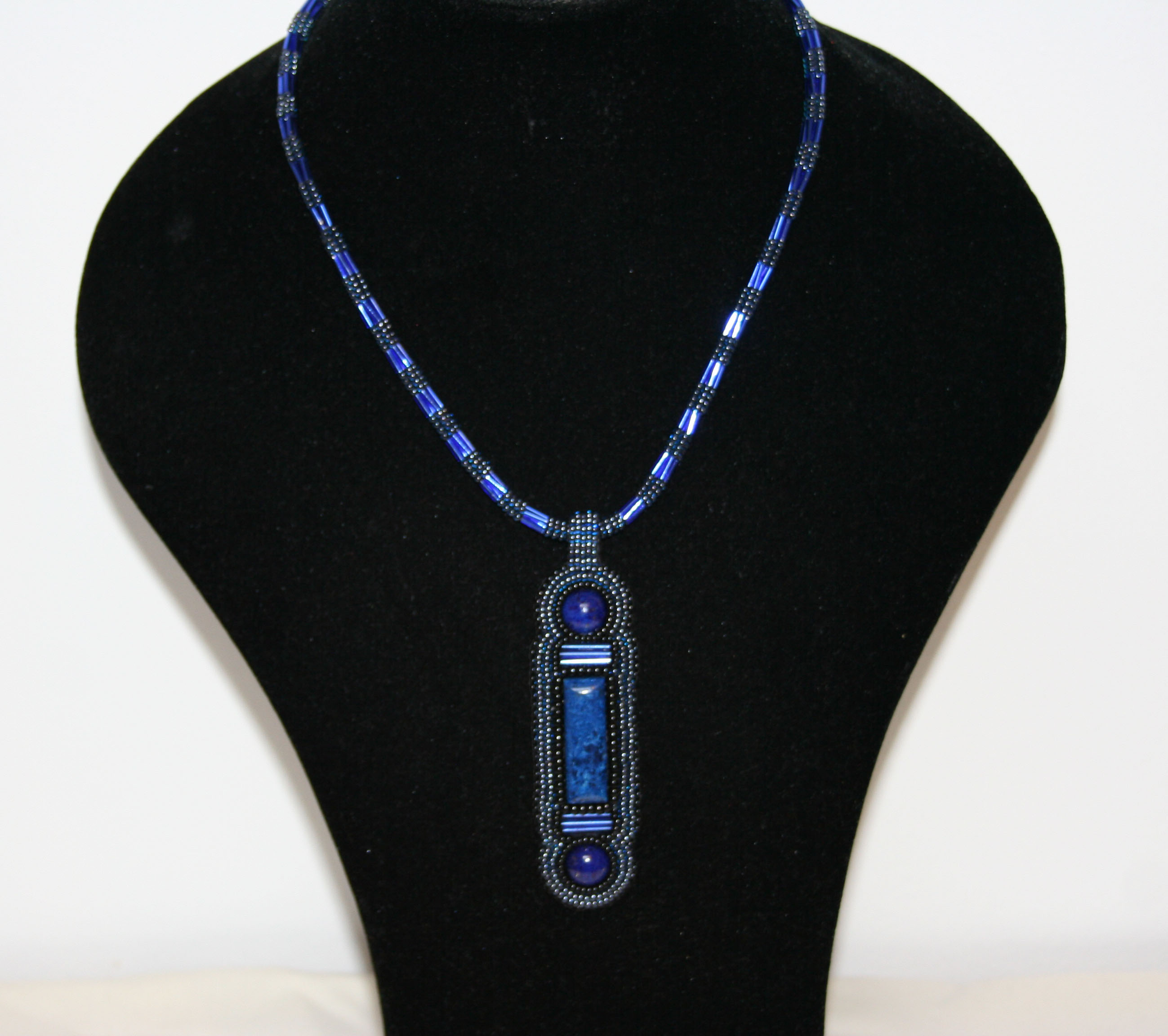 mahboba promise shaped product pendant img elongated lapis s