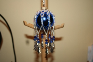 Blue Tree Bauble £25