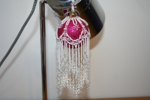 Pink & Crystal Cascade £35