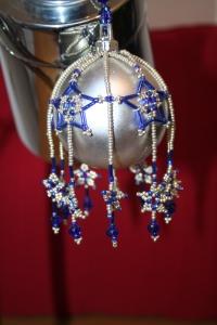 Silver/Blue Stars £25