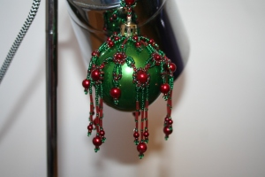 Green & Red Pearl £25