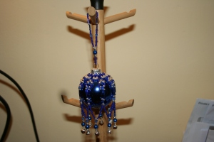 Blue/Silver Crystal Bells