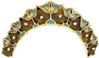 Lalique Opal Tiara