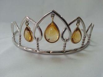 citrine tiara