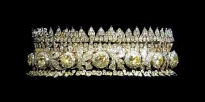 Diamond and Citrine Tiara of Queen Sirikit of Thailand
