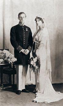 Prince Felix Yusupov and Princess Irina Alexandrovna of Russia